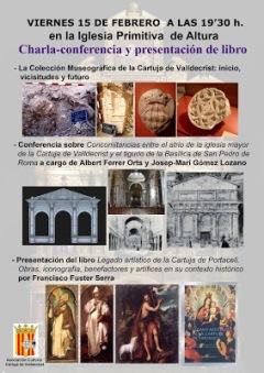 Conferencia y Presentacion libro Paco Fuster
